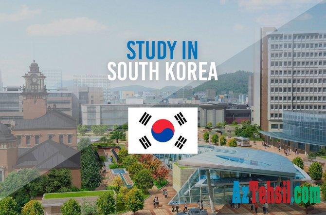 Koreya Respublikasında 2020-2021-ci tədris ili üzrə təqaüd proqramı