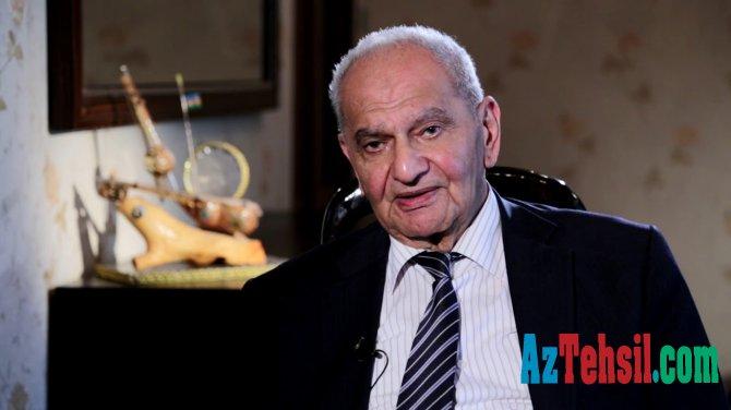 Akademik Vasim Məmmədəliyev vəfat edib