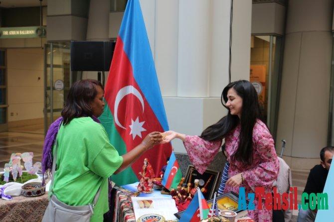 Azərbaycan Vaşinqtonda keçirilən Beynəlxalq Uşaq Festivalında iştirak edib