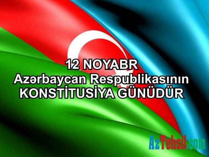 12 noyabr - Konstitusiya Günüdür