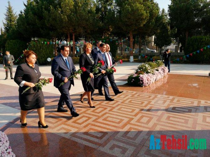 Nazir müavini Ağcabədi, Ağdam, Zərdab və Laçın rayon təhsil işçiləri ilə görüşüb