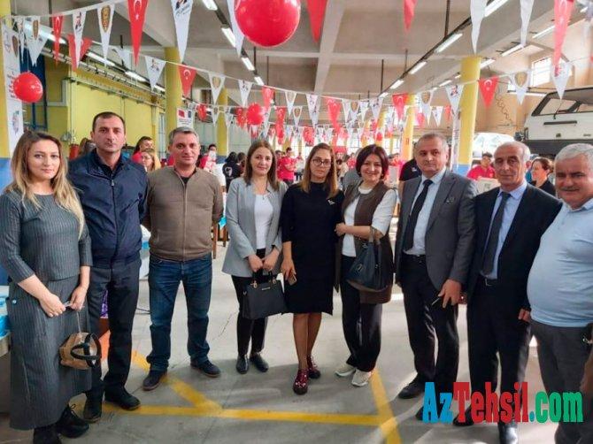 Peşə təhsili müəssisələrinin mühəndis-pedaqoji heyəti İzmirdə