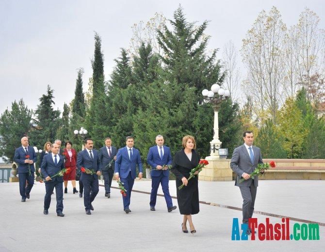 Nazir müavini Şamaxı, Qobustan və Ağsu rayon təhsil işçiləri ilə görüşüb