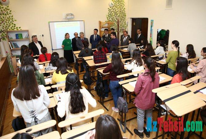 Sağlam təhsil-SABAH auditoriyasının açılış mərasimi keçirilib