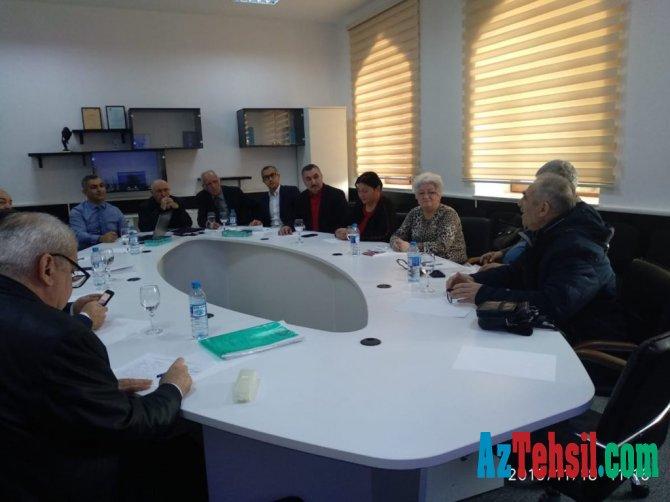 Təhsil Nazirliyi yanında yaradılmış İctimai Şuranın təşəbbüsü ilə müzakirə keçirillib