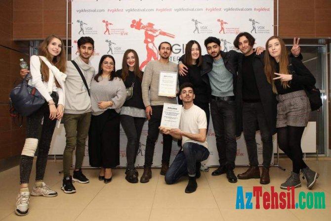 SABAH teatrı Beynəlxalq Festivalda mükafat qazanıb