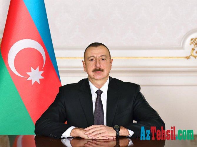 Prezident İlham Əliyev Təhsil Nazirliyinə iki milyon manat ayırıb