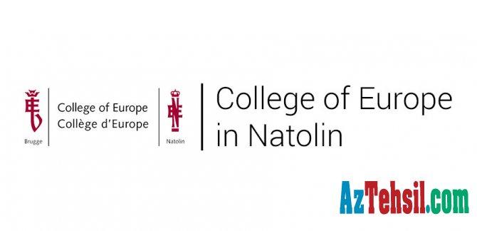 """Belçikanın """"College of Europe"""" ali təhsil müəssisəsinin təqaüd proqramı"""