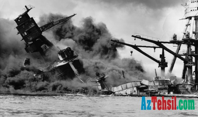 Pearl Harbor əməliyyatı və ABŞ-ın müharibəyə qoşulması