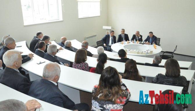 İctimai Şura üzvləri Lənkəran Dövlət Universitetində olub