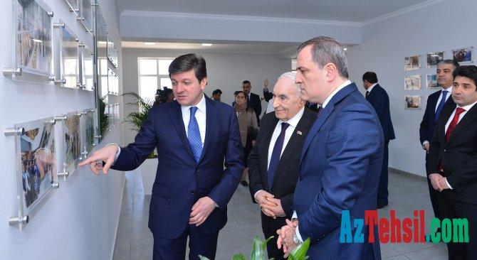 Təhsil naziri Vəndam qəsəbəsindəki yeni məktəbin açılışında