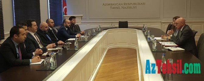 Nazir müavini Firudin Qurbanov diaspor nümayəndələri ilə görüşüb