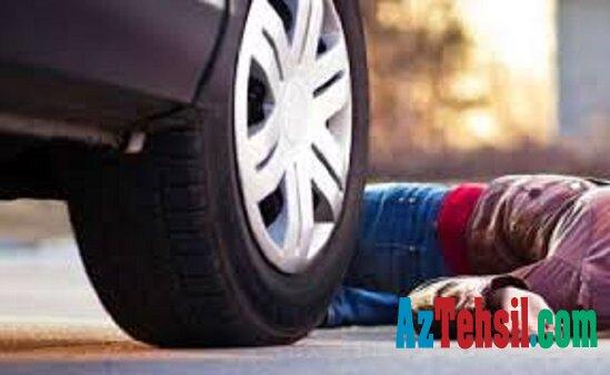 Avtomobil şagirdi vuraraq öldürüb