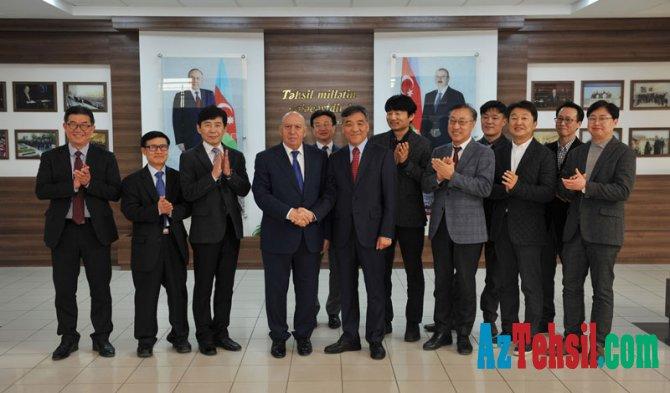 Bakı Mühəndislik Universiteti ilə İnha Universiteti arasında anlaşma memorandumu