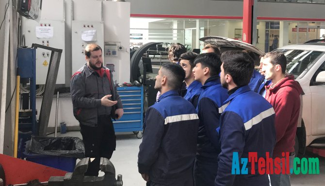 Yeni Peşə Təhsil Mərkəzinin təhsilalanları üçün təcrübə və iş imkanları