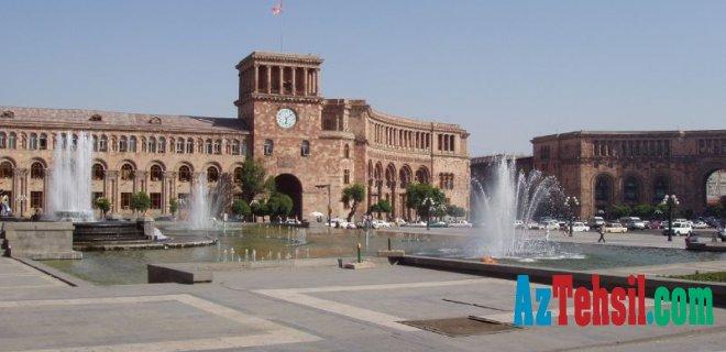 Ermənistanda məktəb və universitetlər bağlandı