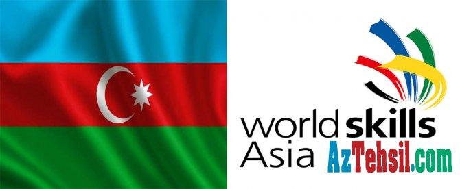 """Azərbaycan """"WorldSkills Asia"""" təşkilatına üzv qəbul edilib"""