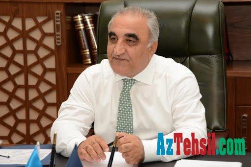 Azərbaycan Dövlət İqtisad Universitetinin rektoru tələbələrə müracət edib
