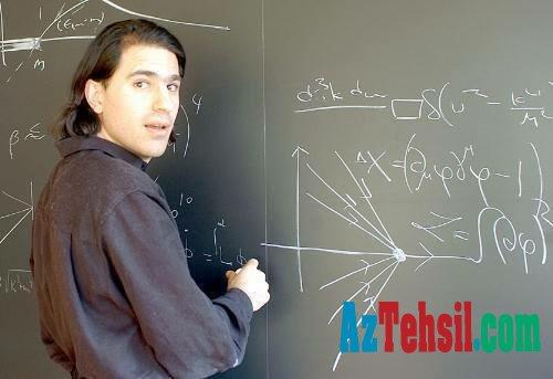 Harvardın 30 yaşlı azərbaycanlı professoru...