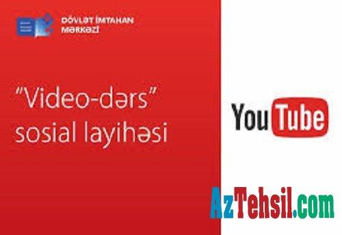 """DİM-in """"YouTube"""" kanalına 200-ə yaxın yeni dərs yerləşdirilib"""