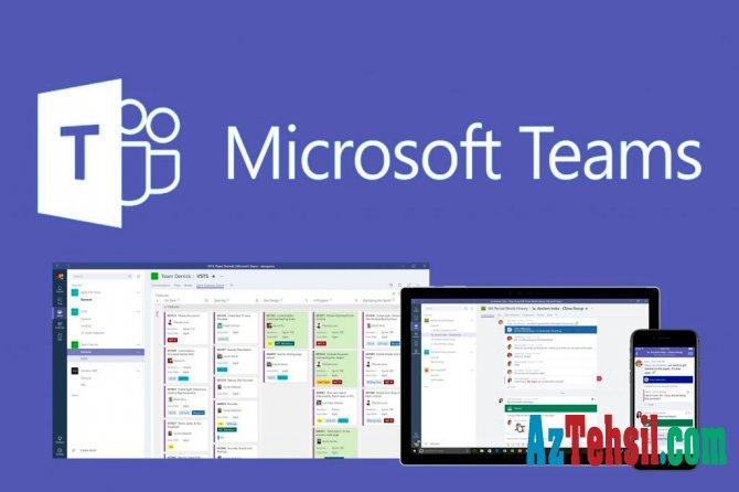 """Ali və orta ixtisas təhsili müəssisələri üçün """"Microsoft Teams"""" platformasından pulsuz istifadə imkanı"""