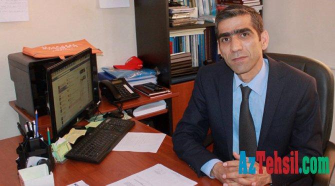 """ADPU -nun prorektoru Eldar Aslanov: """" Bizim üçün tələbənin sağlamlığı vacibdir"""""""
