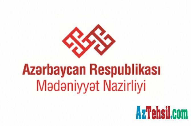 """Mədəniyyət Nazirliyi """"Yaradıcılığı evdə öyrən"""" layihəsinə başlayıb"""
