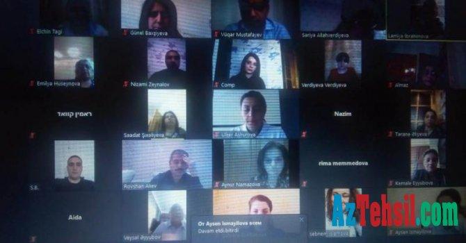Gənc tədqiqatçılar üçün virtual elmi seminar