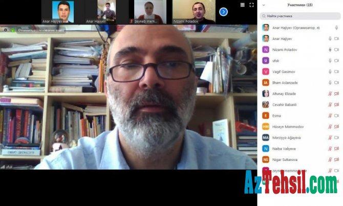 Beynəlxalq dərəcəli ekspert Ufuk Batumdan onlayn təlim