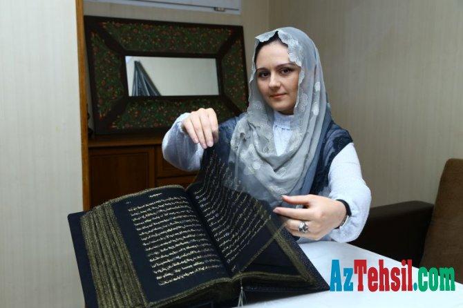 BMU müəllimi dünya tarixində ilkə imza atıb