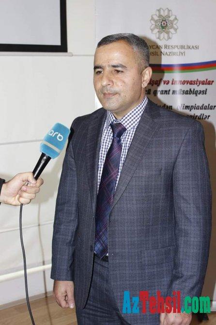 Yaşar Kazımov Repititor müəllimlərə səsləndi
