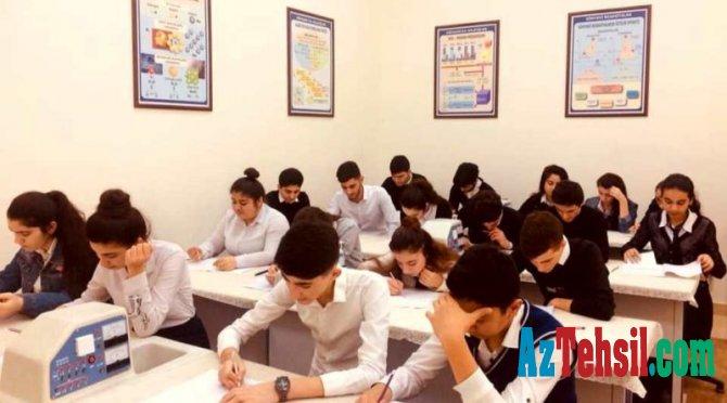 Lisey və gimnaziyalara qəbul imtahanları keçiriləcək - RƏSMİ