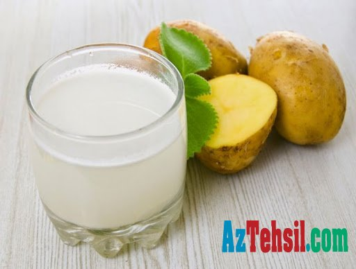 Kartof suyunun MÜALİCƏVİ XÜSUSİYYƏTLƏRİ