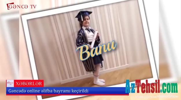 """Birincilərdən ilkə imza – Onlayn """"Əlifba bayramı"""" - VİDEO"""