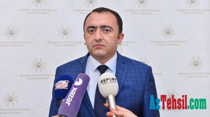 Orxan Abbasov: Müəllimlərlə bağlı yeni onlayn təlimlər keçiriləcək