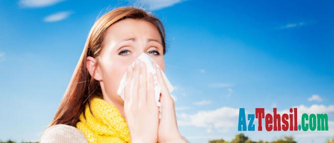 Mövsüm allergiyası ilə koronavirusun simptomları arasındakı fərq açıqlandı