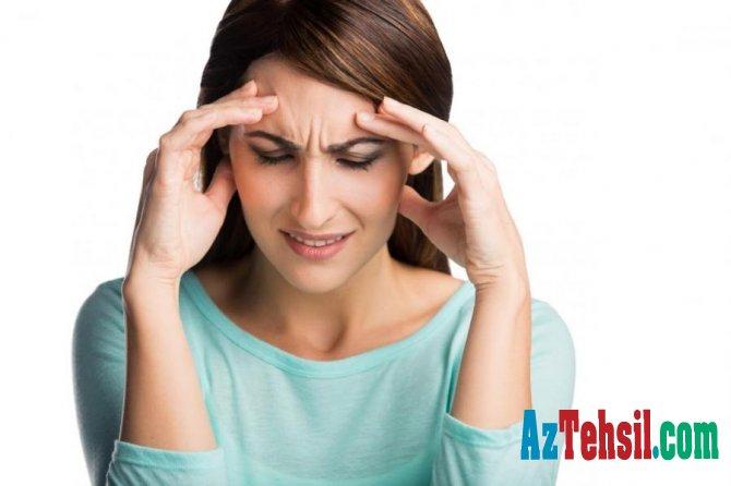 Baş ağrısı və stressi 30 saniyədə keçirmənin yolu