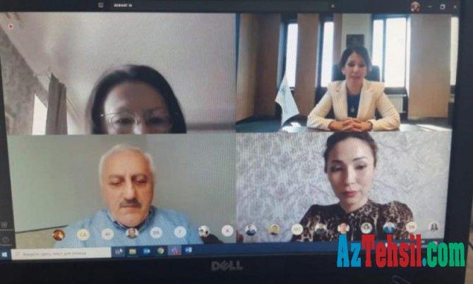 """BDU-nun professoru """"Yaşıl iqtisadiyyat və Xəzərin ekologiyası"""" beynəlxalq konfransında"""