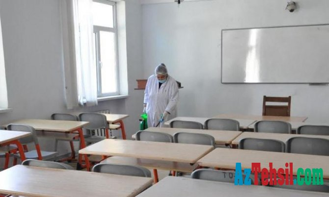MDU-da təkrar dezinfeksiya tədbirləri