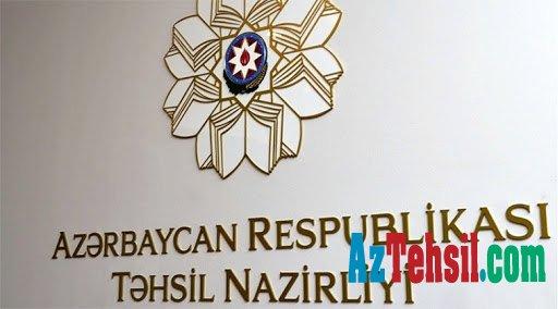 Təhsil naziri  əmr imzalayıb