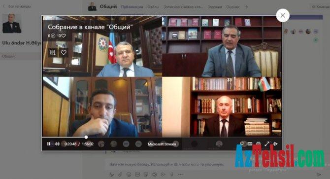 """""""Kitabxana-informasiya fəaliyyətində innovasiyalar və yeni əsrin çağırışları"""""""