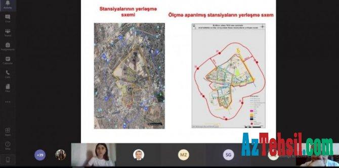"""""""Ekologiya və torpaqşünaslıq elmləri XXI əsrdə"""" mövzusunda virtual elmi konfrans"""
