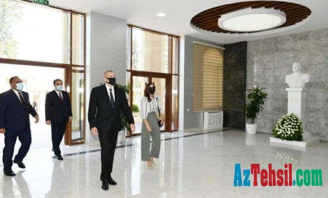 Prezident İlham Əliyev Azərbaycan Dövlət Aqrar Universitetinin yeni tədris korpusunun açılışında iştirak edib