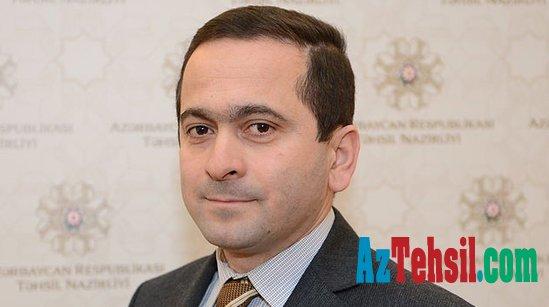 Sentyabrda dərslərə əvvəlki formada başlayacağıq - Cəsarət Valehov