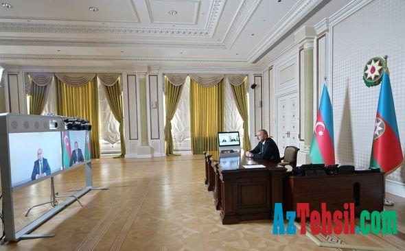 İlham Əliyev yeni təhsil nazirini qəbul etdi