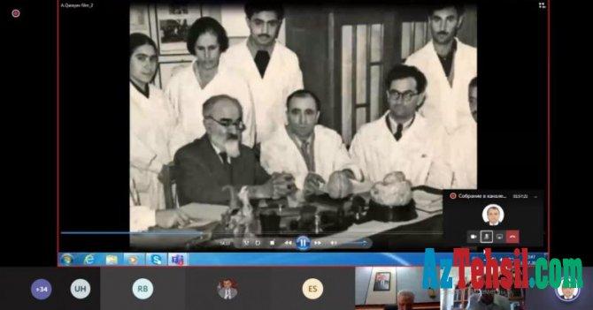 BDU-da akademik Abdulla Qarayevlə bağlı onlayn dəyirmi masa