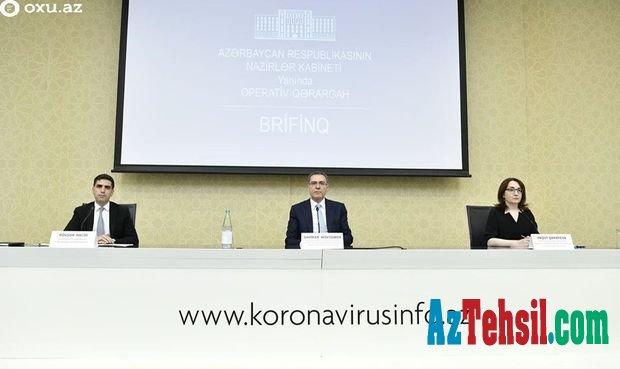 Azərbaycanda koronavirus və karantin rejimi ilə bağlı son vəziyyət açıqlanır.