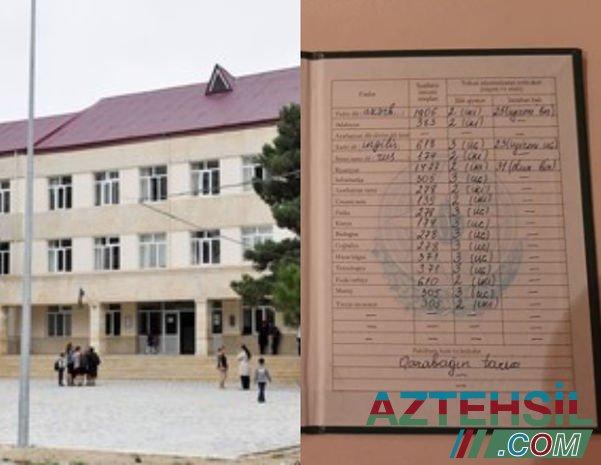 """Bakıda səkkiz fəndən """"iki"""" alan şagirdlə bağlı RƏSMİ AÇIQLAMA - FOTO"""