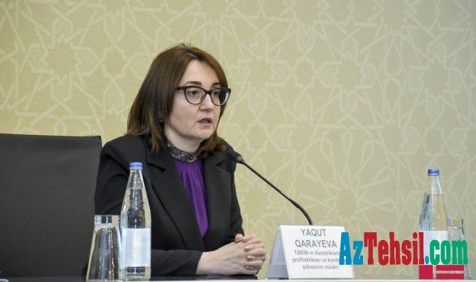 """Yaqut Qarayeva: """"Məktəblərin və uşaq bağçalarının açılması müzakirə olunur"""""""