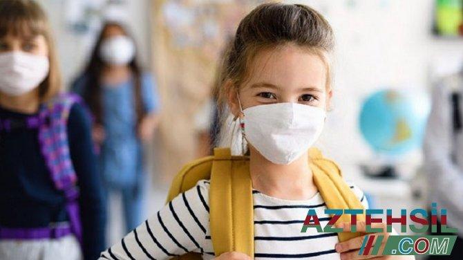 ÜST və UNICEF açıqladı: Uşaqlar hansı yaşda maska taxmalıdır?